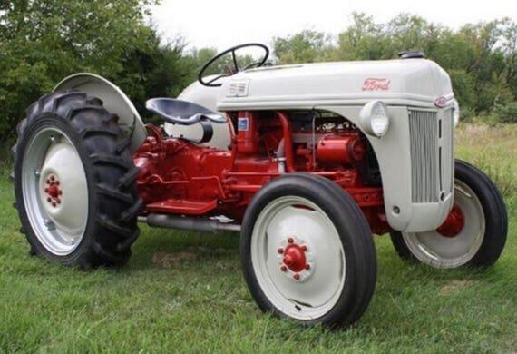 ford tractor repair manual 9n 8n 2n download etsy rh etsy com 8N Ford Owner's Manual 1948 Ford 8N Wiring Diagram
