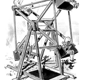 Backyard Ferris Wheel Plans
