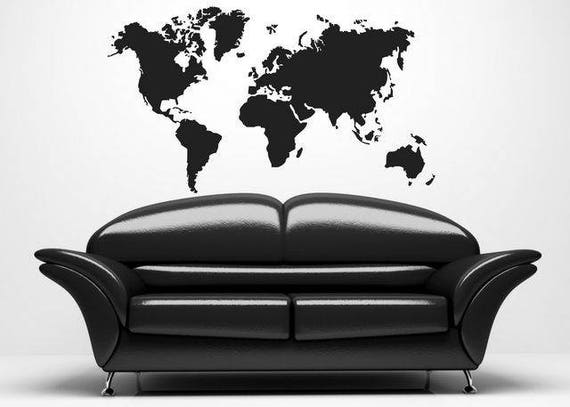 Schablone Zum Malen Weltkarte 119x Etsy