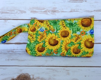 Sunflower Clutch - Ready to Ship