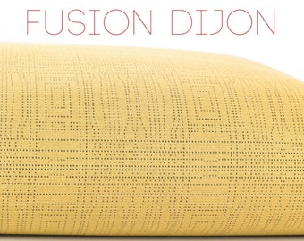 Dog Bed Cover, Pet Bed Duvet, Tough Dog Bed, Durable Pet Bed, Stain Odor Resistant, Stuffable Cover, Fusion Dijon, Beige With Dotted Lines