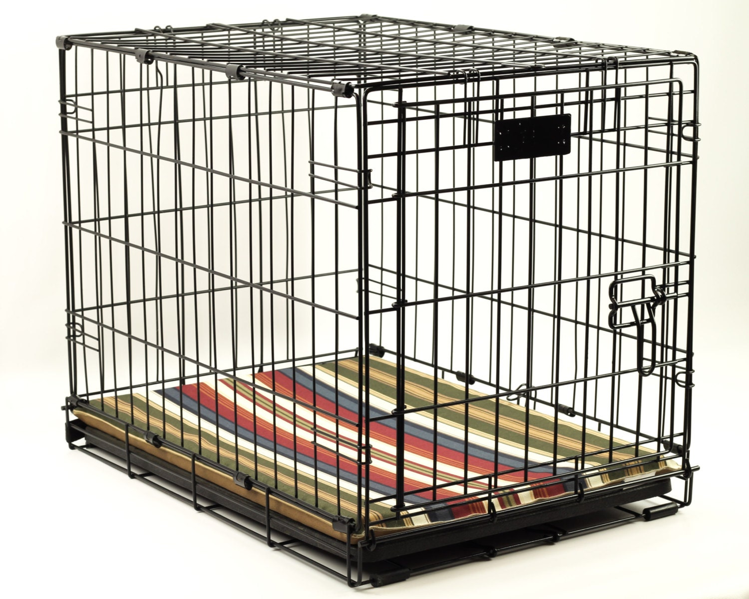 Large Waterproof Dog Crate Pad 42x28 Choose Your Fabric