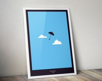 Mary Poppins - Minimal Movies Poster