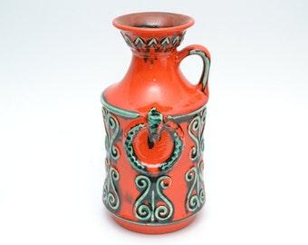 SALE!  . German Ü-Keramik vase (Uebelacker)  - 1682/21