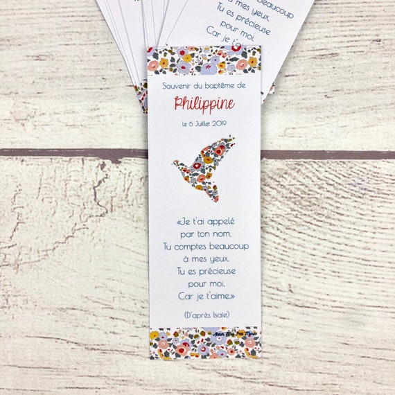 Liberty Religious Bookmark And Dove Colors To Choose From Etsy