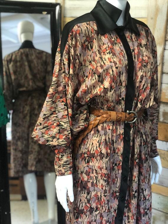 Jean Varon batwing sleeve dress size 14