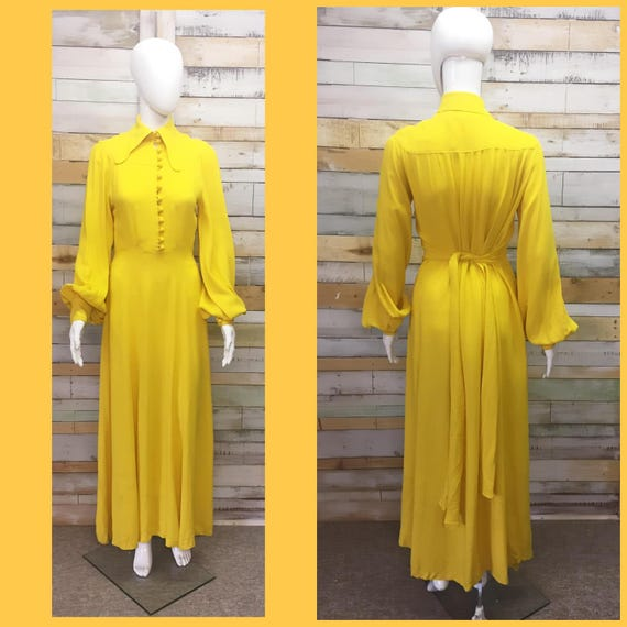 ON RESERVE -do not purchase. . 70s Bright Yellow O