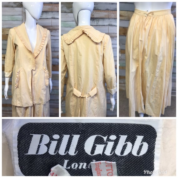 Gorgeous Vintage Bill Gibb highly collectable 2-pi