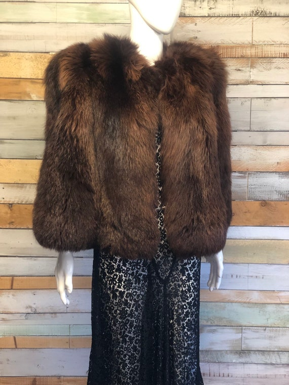 Statement fur 1930's/40's stole/cape