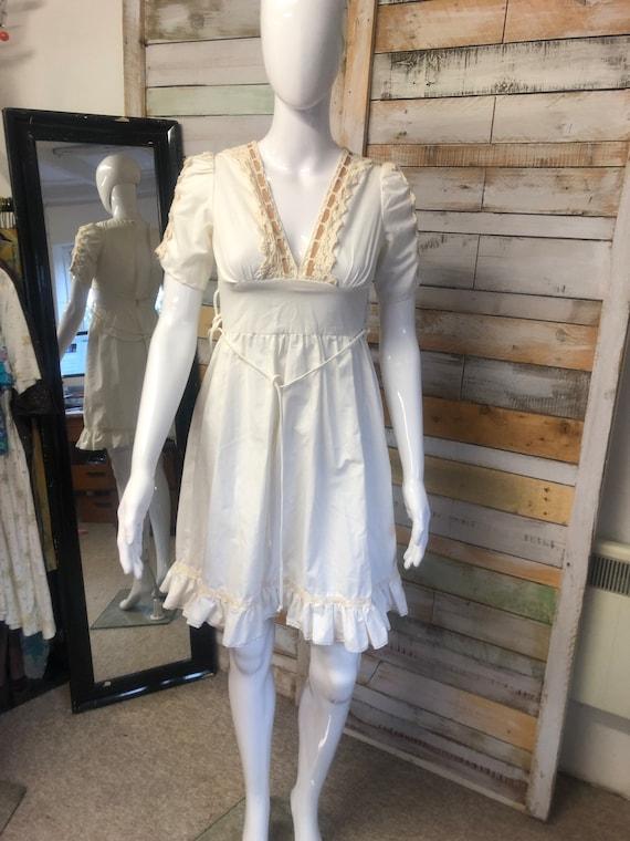 Gunne Sax original cream dress xs - image 1