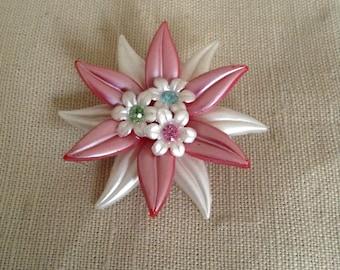 "1960's ""flower"" brooch."