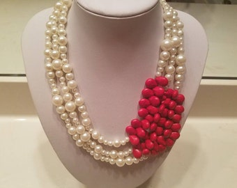 Divine Red Teardrops & Pearls3