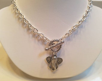 Divine Dream: Elephant Charm Necklace