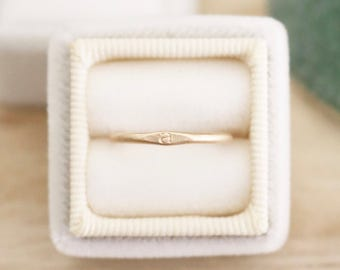 Gold initial stacking ring, stacking ring, initial ring, personalized ring, stacker, ring, rings, gold ring, stamped jewelry, stamped ring