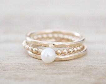 Pearl ring   Etsy