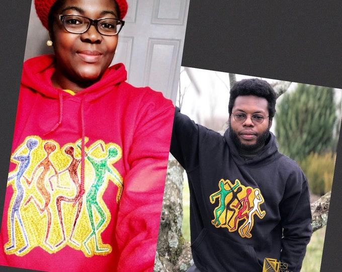 HAPPY PEOPLE Unisex HOODIE, women's hoodies, Men's hoodies,