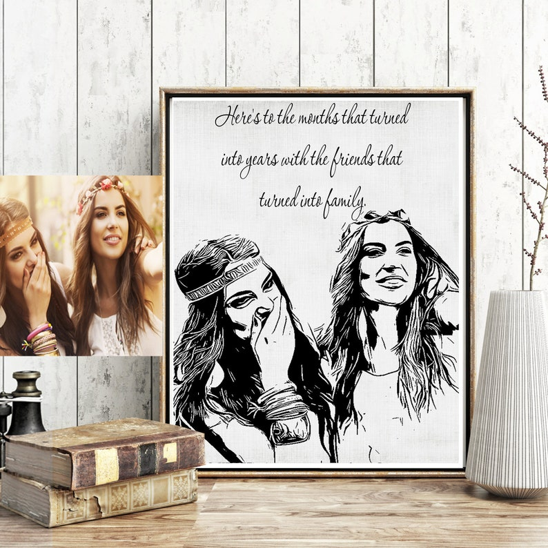 Personalized Best Friend Gifts Birthday Gift For