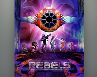 Ezra Ghost CrewSpectres Set Sabine Kanan Zeb /& Jacen Inspired by Star Wars Rebels Embroidery Patches Set of 6 Hera