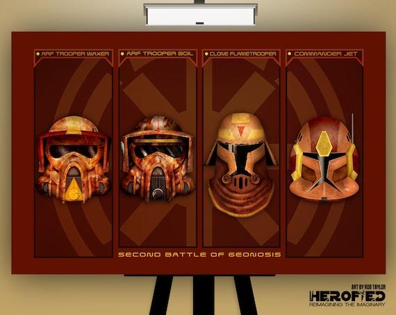 Star Wars Clone Wars Inspired