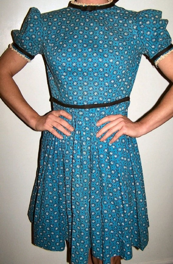 Teena Paige vintage girl's dress