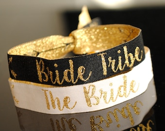 Bride Tribe Hen Party Wristbands / Bracelet favours - Hen Do - Wristband - Bachelorette Party - Favours - Hen Accessories