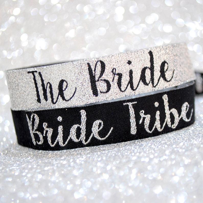 Bride Tribe Hen Do Bachelorette Party Bracelets Hen Party Wristbands