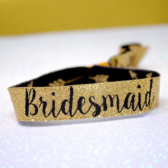 Bride Tribe Wristbands ~ Bachelorette Party ~ Team Bride ~ Hen Party Accessories