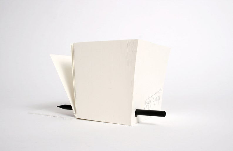 BlackCube Pencil writing pad Notepad