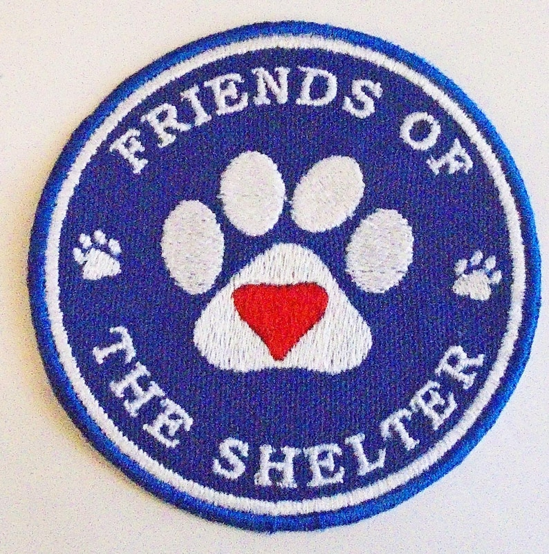 Iron-On Patch  FRIENDS of the SHELTER image 0