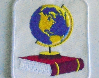 Iron-On Patch - GEOGRAPHY