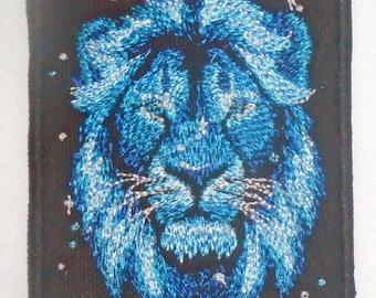 Iron on Patch - DARK LION