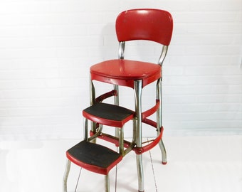 Metal step stool | Etsy