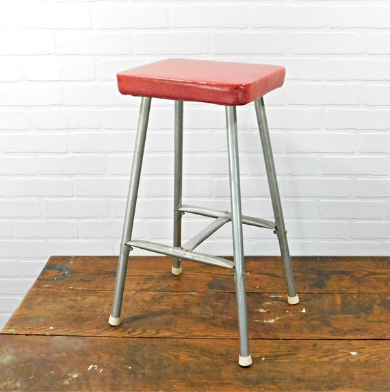 Remarkable Vintage Red Kitchen Quickie Stool Philadelphia Pa Gmtry Best Dining Table And Chair Ideas Images Gmtryco