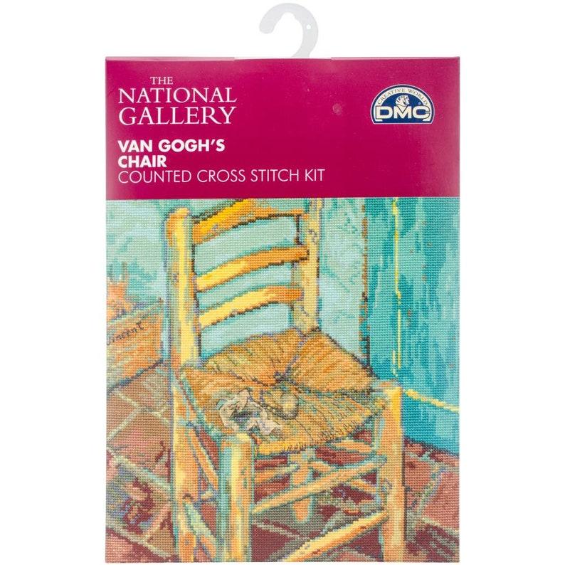 Counted Cross Stitch Van Gogh Chair DMC Free US Shipping!!!