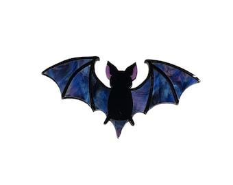 Mystic bat brooch