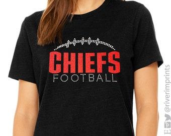Glitter CHIEFS Mascot Womens Shirt 5898f90d4