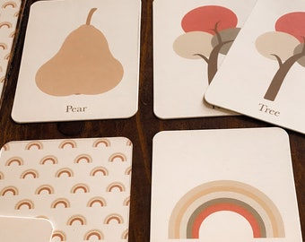 fall memory game (soft colors)