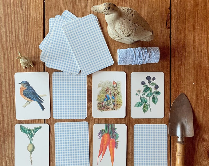 Featured listing image: Peter Rabbit memory matching  game