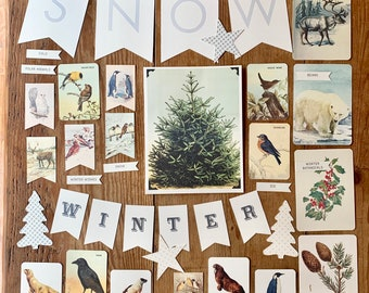 winter bulletin board collection