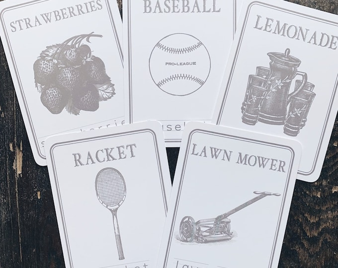 summer spelling flashcards