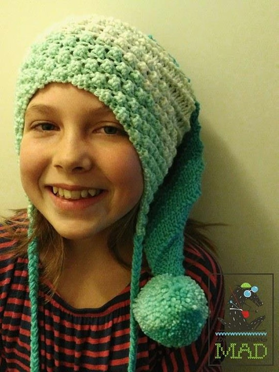 Marie Andres Hat Pattern Knitting Pattern Long Hat Patern Etsy