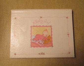 A Baby Girl Photo Album Brag Book By Hallmark BBA3701