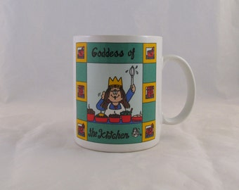 1995 Goddess Of The Kitchen Cathy Kitchen Collection by Papel