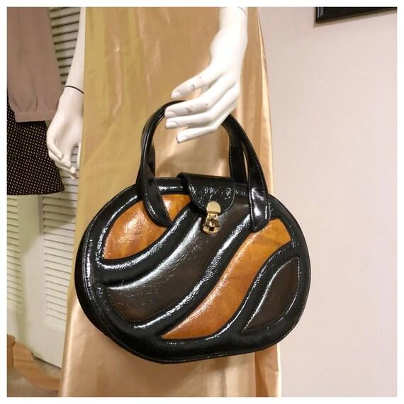 Vintage Mod Purse, 1960's Handbag, 1960's Mod Hand