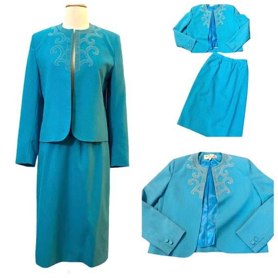 Adolph Schuman for Lilli Ann Skirt & Blazer Suit … - image 2