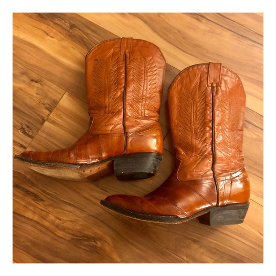7 Vintage Cowboy Western Boots by Jar Boots