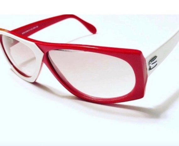 Vintage Silhouette Sunglasses! 1980's New Wave!