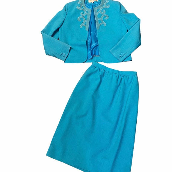 Adolph Schuman for Lilli Ann Skirt & Blazer Suit ,