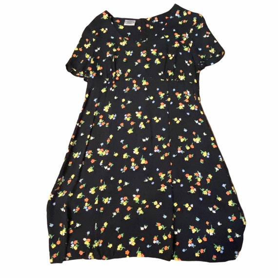 Vintage Laura Ashley Floral Short Dress, Medium, … - image 5