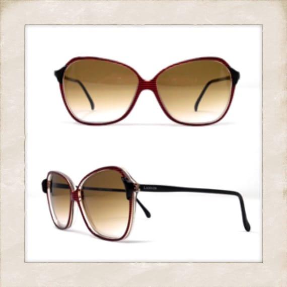 LANVIN Vintage Sunglasses, Deadstock 1970's